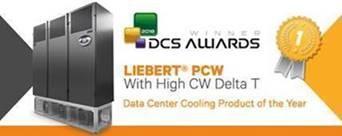 Liebert PCW DCS Award